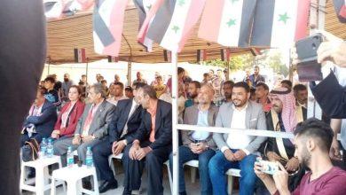 Photo of دعماً للاستحقاق الرئاسي.. تجمع جماهيري في الكسوة