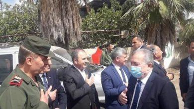 Photo of وصول وفد وزاري إلى محافظة السويداء