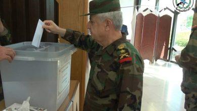 Photo of من مشاركة وحدات الجيش العربي السوري في الانتخابات الرئاسية