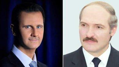 Photo of Belarusian President congratulates President al-Assad on winning presidential election