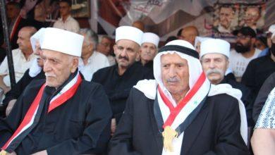 """Photo of بحضور شعبي ورسمي.. """"حي التضامن المَُحرّر"""" يبدأ فعاليات الاستحقاق الرئاسي(صور)"""