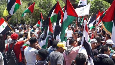 Photo of الآن من اتوستراد المزة بدمشق … وقفة تضامنية مع الشعب الفلسطيني(صور)