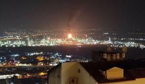 Photo of فلسطين المحتلة.. اندلاع حريق كبير في مصفاة حيفا