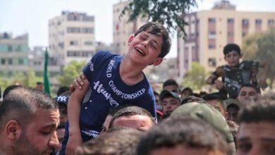 Photo of 56 شهيدا حصيلة العدوان الإسرائيلي على غزة