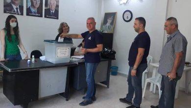 Photo of اقبال الأهالي في ضاحية الأسد من الصباح الباكر للادلاء بأصواتهم في الانتخابات الرئاسية