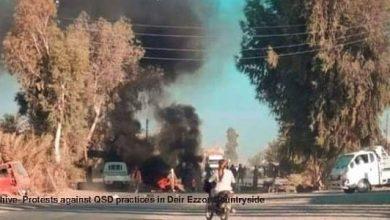 Photo of A QSD militant killed in al-Busayra city ,Deir Ezzor countryside