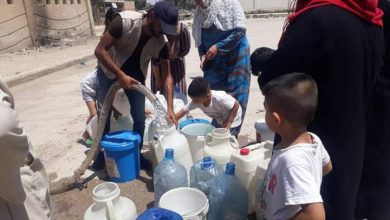Photo of Governmental efforts to secure drinking water for people of Hasaka