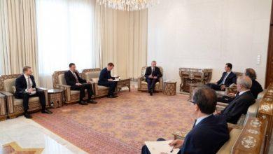 Photo of لبحث التعاون الثنائي القائم مع روسيا.. نائب رئيس الوزراء الروسي في سوريا