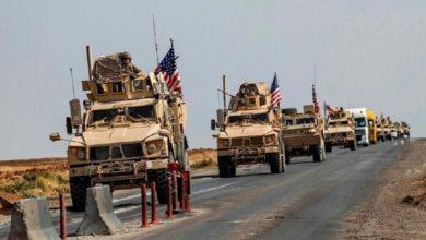 Photo of الإحتلال الأمريكي يخرج شاحنات محملة بالقمح السوري المسروق إلى شمال العراق