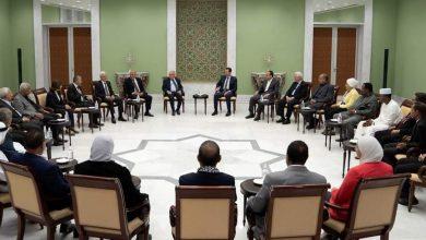 Photo of الأسد يستقبل وفداً من المؤتمر القومي الإسلامي