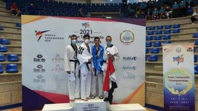 Photo of Bronze medal for Syria in Asian Taekwondo Championship