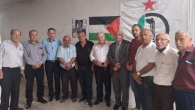 Photo of الفصائل الفلسطينيّة محافظة جنين تستضيف النائب السابق المحامي سعيد نفّاع