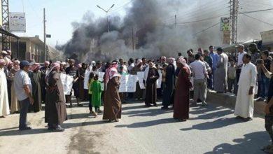 Photo of 9  شهداء في منبج خلال تظاهرات ضد «ميليشيات قسد»