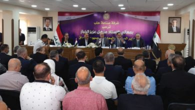 Photo of وزير الصناعة العراقي يدعو من حلب إلى تشكيل إقليم صناعي