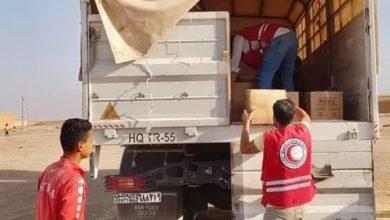 Photo of الهلال الأحمر يوزع مساعدات لنحو 1200 أسرة بريف القامشلي