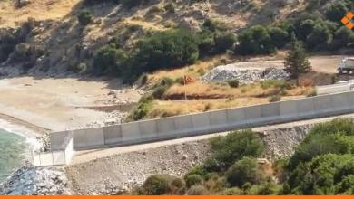 Photo of جدار الاحتلال التركي يصل إلى «أم الطنافس» في ريف اللاذقية