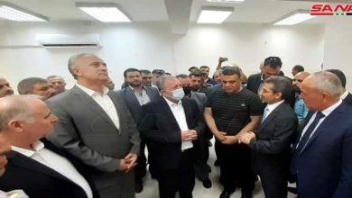 Photo of Premier Arnous inaugurates building of Finance Directorate in Baniyas, Tartous