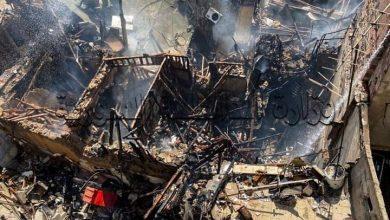 Photo of حريق ضمن منزل في محلة العمارة بدمشق
