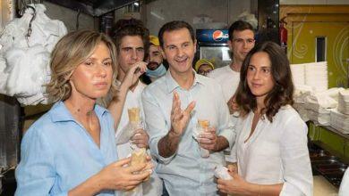 Photo of الرئيس الأسد و عائلته في حي الميدان بدمشق(صور)
