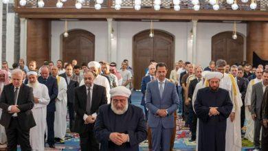 Photo of الرئيس الأسد يؤدي صلاة عيد الأضحى في حمص (صور)