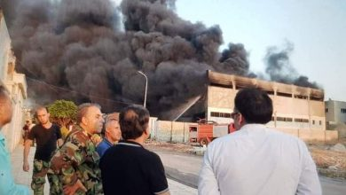 Photo of Five persons die in fire that erupted at Sheikh Najjar Industrial City in Aleppo