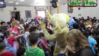 Photo of توزيع هدايا العيد على الأطفال في مدينة شهبا (فيديو)