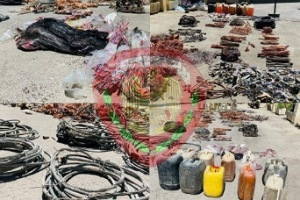 "Photo of بدمشق.. عصابة تسرق ""كابلات الكهرباء"""