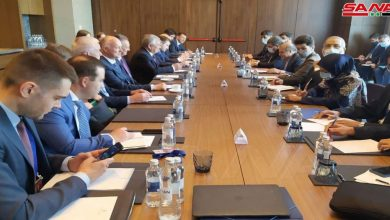 Photo of الوفدان الروسي والإيراني يعقدان لقاء في إطار الاجتماع الـ 16 بصيغة أستانا حول سوريا