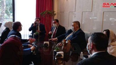Photo of ممثلاً الرئيس الأسد… صباغ يشارك في مراسم أداء اليمين الدستورية للرئيس الإيراني