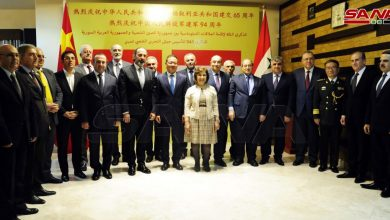 Photo of احتفال «سوري – صيني» بمناسبة مرور 65 عاماً لاقامة العلاقات الدبلوماسية