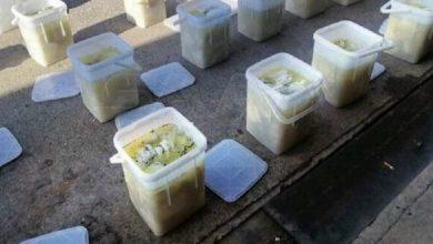 Photo of بحمص.. ضبط نحو 225 ألف حبة كبتـاغون مخبأة في الجبنة البيضاء!