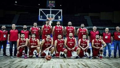 Photo of Syrian national basketball team advances ten degrees in the world classification