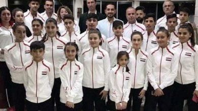 Photo of ذهبية لمنتخب سورية بكرة الطاولة في البطولة العربية