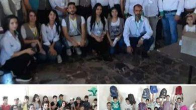 Photo of حملة كلنا أهل تكرم مركز شباب سليم التطوعي و توزع حقائب مدرسية في قرية سليم