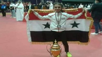 Photo of Syrian Ping-Pong player Ibaa Hallaq wins gold medal in the Arab Competition