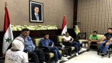 """Photo of A number of wounded arrive from Iraq, Russia to participate in"""" Wounded of Homeland"""" Sports Games"""