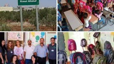 Photo of حملة كلنا أهل توزع 341 حقيبة وقرطاسية مدرسية في قرية ريمه اللحف بريف السويداء
