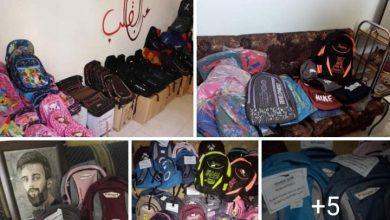 Photo of حملة أوكسجين حقيبة مدرسية توزع حقائب و قرطاسية للأيتام بالسويداء