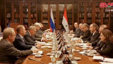 Photo of بالتوازي مع القمة.. اجتماع لأعمال اللجنة الحكومية «السورية – الروسية» المشتركة في موسكو
