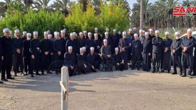 Photo of الاحتلال الإسرائيلي يمنع وفد لجنة التواصل في فلسطين المحتلة من زيارة سورية