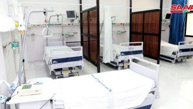 Photo of مئة بالمئة نسبة إشغال العناية والعزل الخاصة بكورونا في مشفى الهلال الأحمر بدمشق