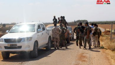 Photo of الجيش يتابع انتشاره في عدة مزارع بريف درعا