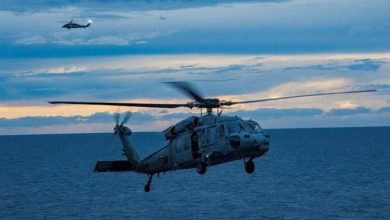 Photo of سقوط مروحية تابعة للبحرية الأميركية قبالة ساحل كاليفورنيا