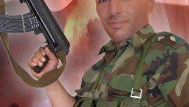 """Photo of ارتقاء الملازم شرف """"تامر فايز سعد"""" شهيداً في ريف درعا و هو شقيق ثلاثة شهداء"""