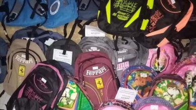 Photo of أوكسجين حقيبة مدرسية توزع حقائب و قرطاسية مجاناً في السويداء