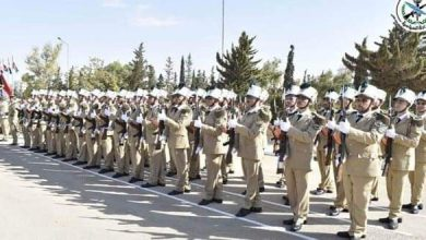 Photo of A new batch of students of al-Assad Academy for Military Engineering graduated