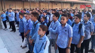Photo of بدء العام الدراسي 2021-2022 في سوريا