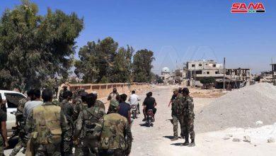 Photo of الجيش يبدأ بالانتشار بدرعا البلد ( صور)
