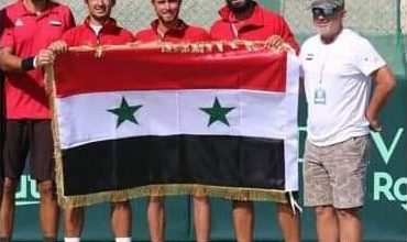 Photo of Syrian tennis team beats Sri Lanka counterpart at Davis Cup