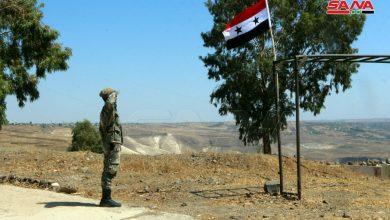 Photo of الجيشُ العرّبي السوري.. يُلّقي السّلام لـ «جولاننا المحتل» – (صور)